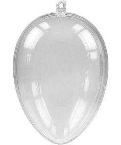 Meyco Ou de plastic transparent 2 piese 63 x 45mm 45015