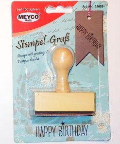 Meyco Stampila Happy Birthday 65428