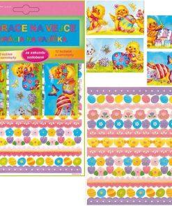 Pentart - Set decorativ pentru ornat ouă 772