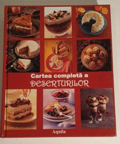 Cartea completa a deserturilor, Editura Aquila