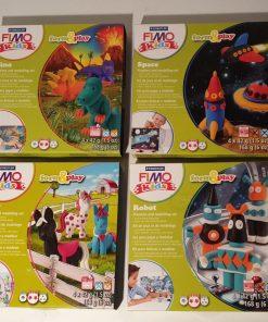 Staedtler - Set modelare Fimo Kids Nivel 2 8034 7 piese