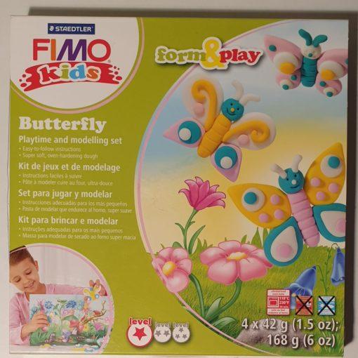 Staedtler - Set modelare Fimo Kids Nivel 1 8034 10 Fluturi