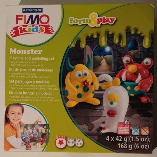 Staedtler - Set modelare Fimo Kids Nivel 1 8034 11 Monstrii