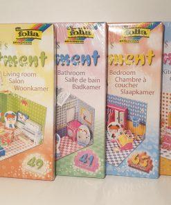 Puzzle 3D apartamentul lui Anni Folia 3300 ModelLogic