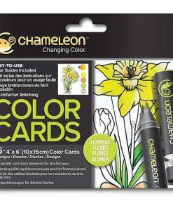 Chameleon Carte de Colorat Flori CC0102