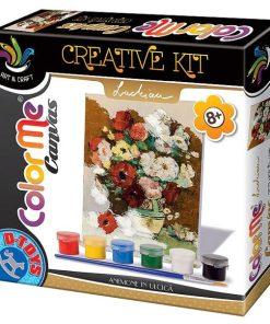 D-Toys - Joc Creativ Color Me Canvas Stefan Luchian, Anemone in Ulcica