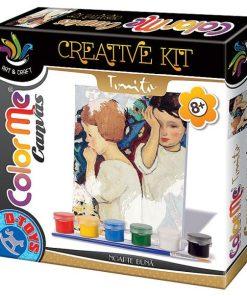 D-Toys - Joc Creativ Color Me Canvas Tonitza