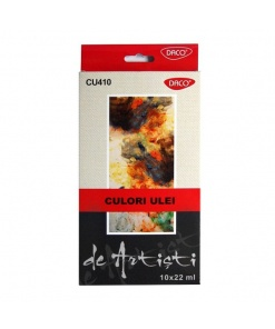 Daco Culori Ulei CU410 set 10 culori
