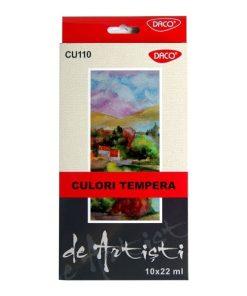 Daco Culori tempera CU110 set 10 culori