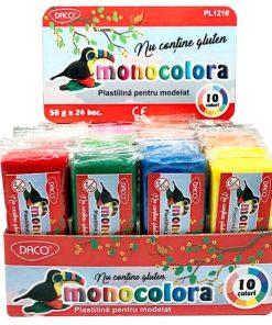 Daco Plastilină Monocolara 50g PL1210