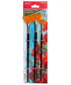 Daco - Set pensule tip Evantai PN243