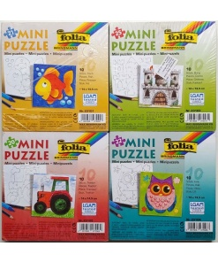 Folia Mini Puzzle set 10 buc