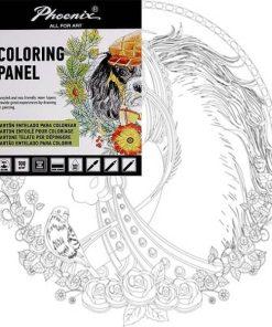 Phoenix Carton panzat predesenat Horse Art G0010