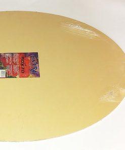 Pintura Placaj Panzat oval 50x70cm detalii