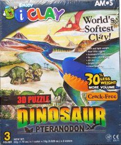 Set AMOS iClay Dinozauri - Pteranodon IC3DPD