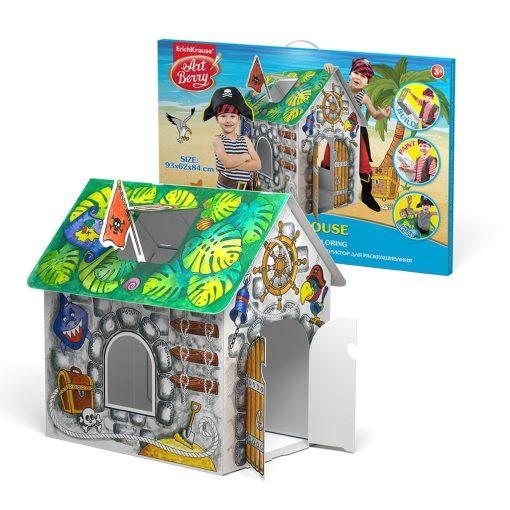 ErichKrause - Casa piratilor de colorat EK39231