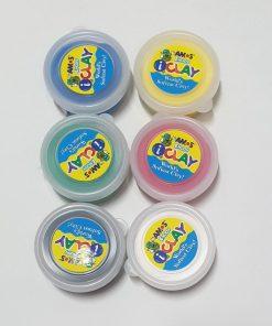 Plastilina iClay 18 g 6 culori diferite