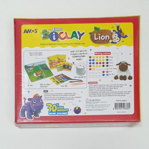 Set Zoo AMOS iClay IC6AF