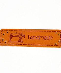 ACH Eticheta Hand Made din piele ecologica 389050