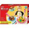 AMOS Set Plastelina iDough 5 culori Noodle ID75P5ND