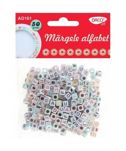 Daco Margele Alfabet colorate AD161