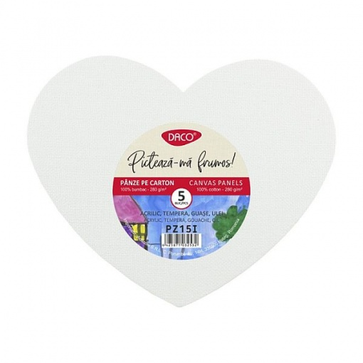 Daco Set Carton panzat Inima PZ15I