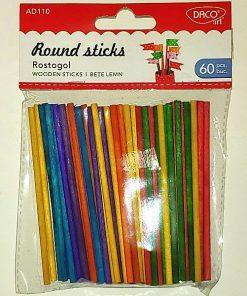 Daco Set Mini baghete rotunde colorate AD110