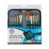 Daler Rowney Set 10 pensule Simply culori acuarela