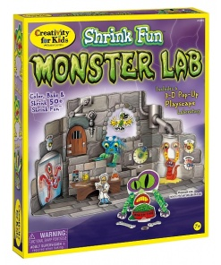Faber-Castell - Set Creativ Monstri Shrinky Dinks