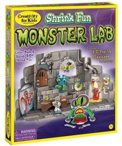 Faber-Castell - Set Creativ Monstri Shrinky Dinks
