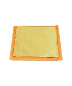 Foita schlagmetal 16x16cm aur