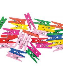 Junior Mini Cleme colorate set 25 bucăți