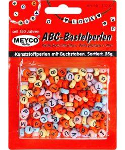 Meyco – Mix perle alfabet rotunde 132-65