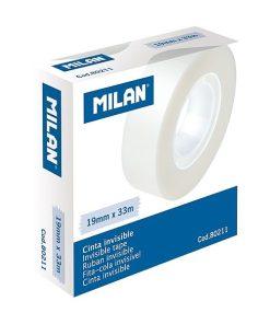 Milan Banda adeziva 19mmx33m invizibila 80211