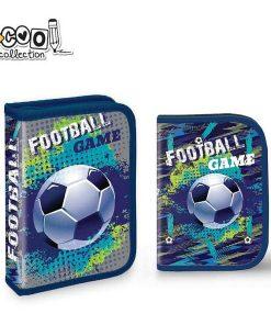 Penar S-cool Collection echipat 1 fermoar pentru baieti Fotbal SC1318