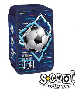 Penar S-cool Collection echipat 3 fermoare Fotbal SC1009