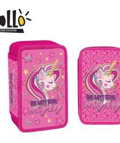 Penar Yollo School Collection echipat 3 fermoare pentru fete Unicorn YL036
