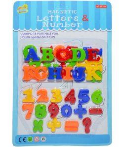 Set Litere si Cifre magnetice