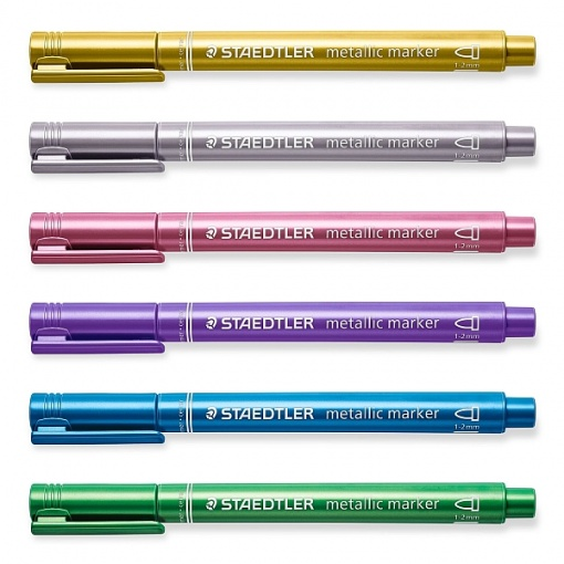 Staedtler Marker Culori Metalice 8323