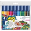 Staedtler - Noris club carioci colorate pentru adulti set 20 culori