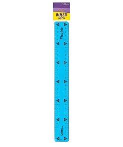 UNI-line Rigla 30cm Flexibila Albastra