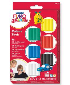 Set 6 culori FIMO Kids 8032