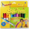 Centropen Set creativ 10 Markere Blopens pentru textile