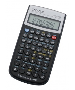 Citizen Calculator Stiintific SR-260N