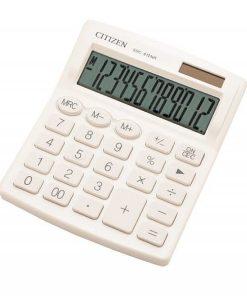 Citizen Calculator de birou SDC-812 Alb