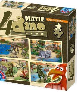 D-Toys Puzzle Dinozauri set 4 73051