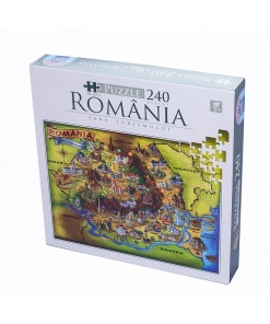 D-Toys Puzzle Romania 240 piese 74225