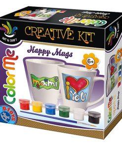 D-Toys Set Creativ de pictat cesti din ceramica 66572
