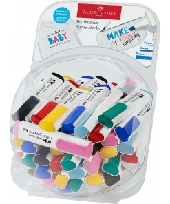 Faber-Castell Marker textile diverse culori