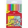 Faber-Castell - Set 10 Carioci colorate Neon + Pastel